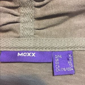 MCXX Sweaters - MCXX Brown/ Gray Long Sleeve Open Cardigan Style